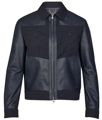 Louis Vuitton Mixed Leather Jacket