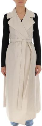 Max Mara 'S Sleeveless V-Neck Dress