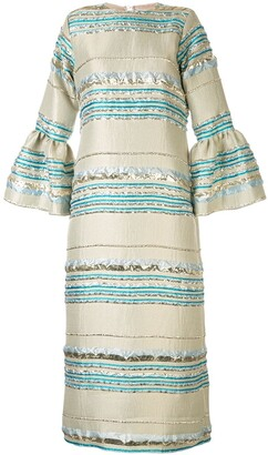 Bambah Zeynab striped dress