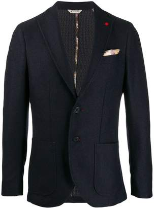 Manuel Ritz slim-fit blazer