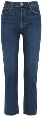 A Gold E Remy Blue Straight-leg Jeans