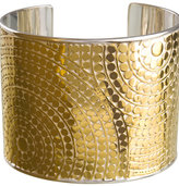 Rajua Wide Gold Cuff