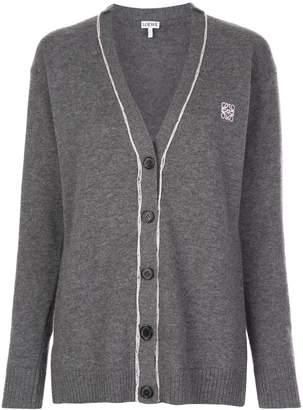 Loewe anagram knitted cardigan