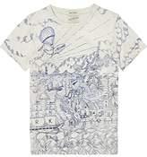 Scotch & Soda Shrunk Boy's Printed T-Shirt