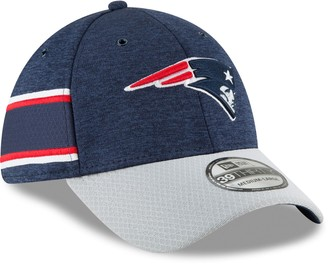 New Era Adult New EnglandPatriots Sideline Home Official 39THIRTY Flex-Fit Cap