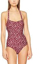 Fat Face Women's Abstract Shell Empire Swimsuit