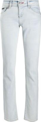 Philipp Plein Light Wash Jeans