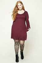 Forever 21 Plus Size Bell Sleeve Dress
