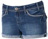 Hydraulic Juniors' Bailey Frayed Jean Shortie Shorts