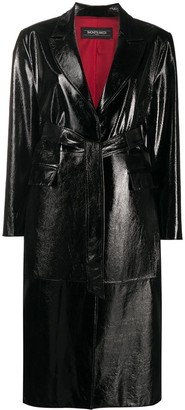 Simonetta Ravizza Longline Distressed Coat