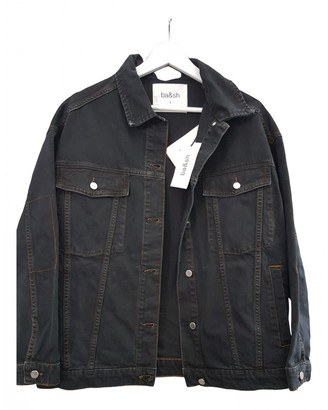 BA&SH Black Cotton Jackets