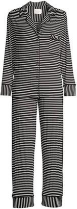 Maison du Soir Monaco Two-Piece Pajama Set