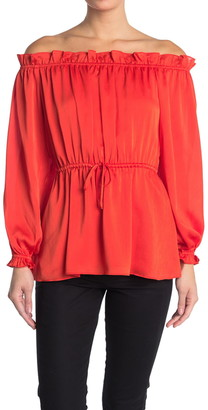 Diane von Furstenberg Camila Off-the-Shoulder Top