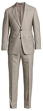 Emporio Armani Men's Micro Houndstooth Super 140S Wool Suit