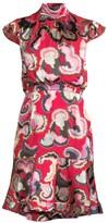 Saloni Phoebe Print Dress