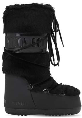 Moon Boot Classic Faux Fur Boots