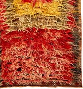 Rejuvenation Amazing Hand Knotted Turkish Tulu Runner