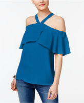INC International Concepts Popsicle Cold-Shoulder Top, Only at Macy's