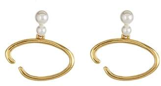 Oscar de la Renta O Logo Earrings