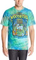 Liquid Blue Men's Woodstock Music Festival T-Shirt, Multi