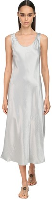 Max Mara Satin Midi Dress
