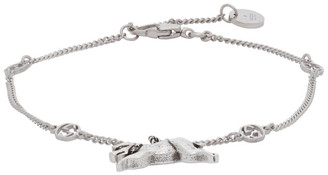 Gucci Silver Piglet Bracelet