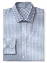 Gap Wrinkle-resistant plaid standard fit shirt