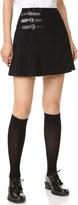 McQ by Alexander McQueen Alexander McQueen Buckle Pleated Skirt