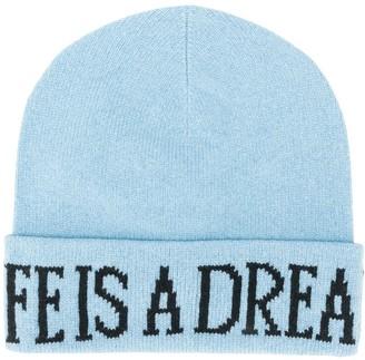 Alberta Ferretti Life Is A Dream knitted beanie