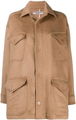 Katharine Hamnett Oversized Buttoned Coat