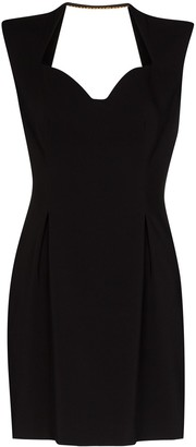 Versace Sweetheart Neckline Mini Dress