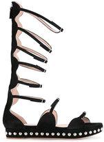 Giambattista Valli gladiator sandals - women - Suede - 37