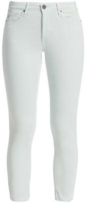 AG Jeans Prima Mid-Rise Crop Cigarette Sateen Pants