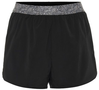 The Upside Run Zebra-print shorts
