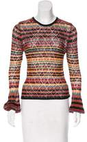 Ronny Kobo Striped Knit Top