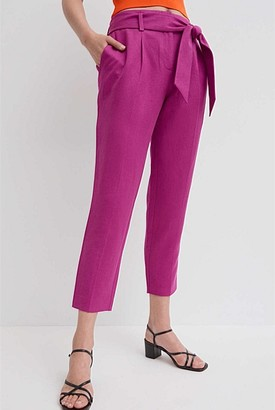 Witchery Tapered Tie Belt Pant
