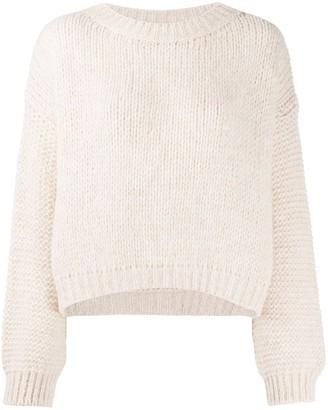 Roberto Collina Drop-Shoulder Chunky Sweater