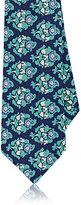 Isaia Men's Floral Cotton Seven-Fold Necktie