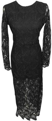 Maje Spring Summer 2019 Black Lace Dresses