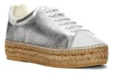 Vince Camuto Poppy2 – Metallic Espadrille Sneaker