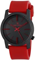 """Rip Curl Unisex A2698 """"Cambridge"""" Watch with Red Band"""