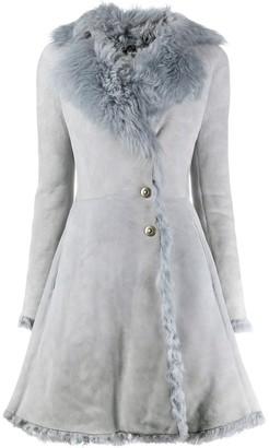 Alaïa Pre Owned 1990s A-line coat