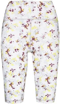 adidas by Stella McCartney TruePurpose floral-print cycling shorts