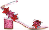 Chiara Ferragni glitter stars sandals - women - Leather/PVC - 36