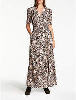 Somerset by Alice Temperley Fireflower Maxi Dress, Black