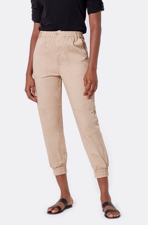Joie Nelina Cropped Cotton Pant