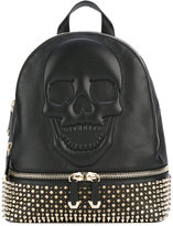 Philipp Plein studded skull backpack - women - Leather - One Size