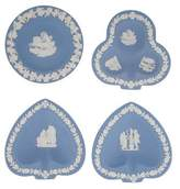 Wedgwood Set of 4 Jasperware Trinket Dishes