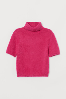 H&M Fluffy Turtleneck Sweater