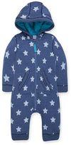 Kids Clothing- Mini Club Brand 15 Mini Club Baby Boys Star Print Hooded All in One